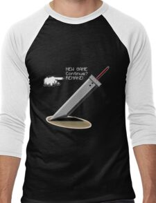 Final Fantasy 7: Finally the promise has been made. Men's Baseball ¾ T-Shirt