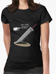 Final Fantasy 7: Finally the promise has been made. Womens Fitted T-Shirt