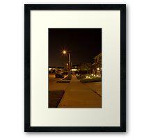 Suburbia, CA Framed Print