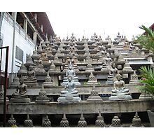 Tower of Buddhas Sri Lanka Photographic Print