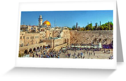 The Wailing Wall, Jerusalem by NeilAlderney