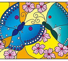 Nanjing Butterflies by Cheryl Malloy