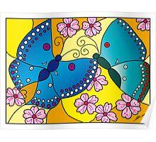 Nanjing Butterflies Poster
