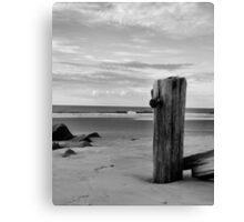 Folly Beach Silenced Canvas Print