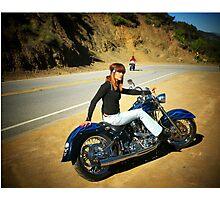 Weekend Ride...(self portrait) Photographic Print