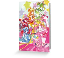 Sailor Moon Team Greeting Card