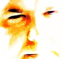 Experimental Portrait of Dave by Christopher Pottruff