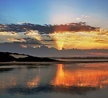 Forster sunset splendour. by bazcelt