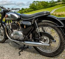 BSA Motor Bike by Adrian Evans
