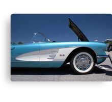 Lil' Not-So-Red Corvette Canvas Print
