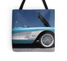 Lil' Not-So-Red Corvette Tote Bag