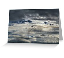McEntire Jet 5 Greeting Card