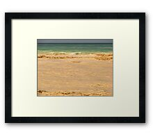 THE SEA &THE FLOOD COLOR Framed Print