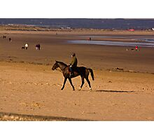 Redcar Beach Photographic Print