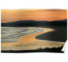 Seven Mile Beach at Gerroa, NSW Poster