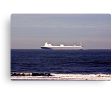 Heading for the River Tees Canvas Print