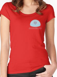 Ope Ope Fruit Shambles Women's Fitted Scoop T-Shirt