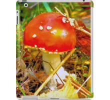 Eat the mushroom and die iPad Case/Skin