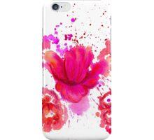 Watercolor Flower 2 iPhone Case/Skin