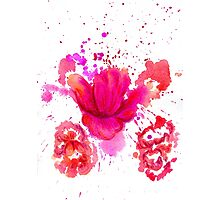 Watercolor Flower 2 Photographic Print