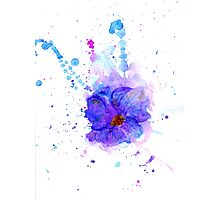 Watercolor Flower 3 Photographic Print