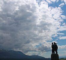Commando War Memorial  by Sandy Sutherland