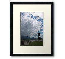 Commando War Memorial  Framed Print