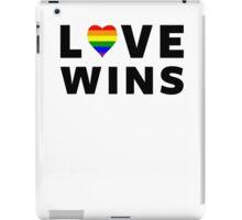 Love Wins (Gay Marriage) iPad Case/Skin