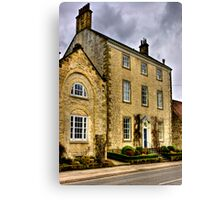 Town House - Helmsley (HDR) Canvas Print