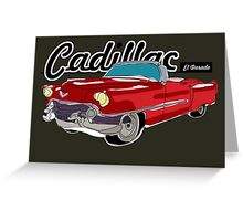 Cadillac El Dorado Greeting Card