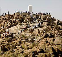 Jabal Rahmah (Mount of Mercy) by nadeedja