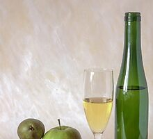 Wine and fruits by Ingvar Bjork Photography