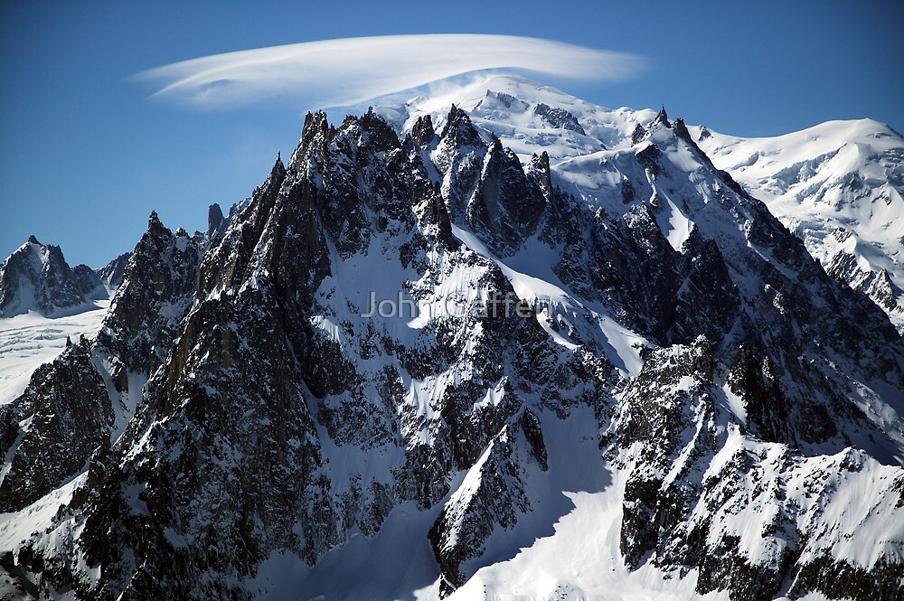 White Cap:  The Summit of Mont Blanc by John Gaffen