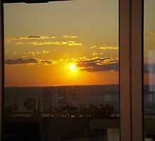 Sunset in a Window by sstarlightss