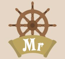 Mr and Mrs MISTER Matching Wedding Honeymoon Cruise Ship by CreativeTwins