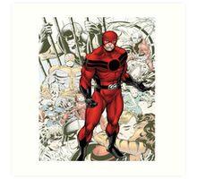 Ant-Man Classic Comic Art Print
