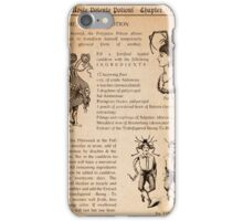 HARRY POTTER - POLYJUICE POTION iPhone Case/Skin