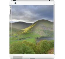 The Lake District: Light on Hartsop Dodd iPad Case/Skin