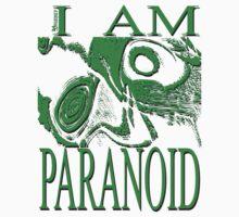 PARANOID green drawing T-Shirt