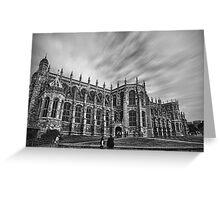 St. George's Chapel - Windsor Greeting Card
