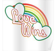 Love WINS #lovewins Poster
