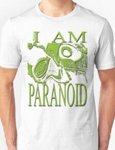 PARANOID pastel green  drawing T-Shirt