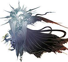 final fantasy 15 logo by kumbangperak