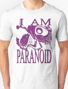 PARANOID purple drawing T-Shirt