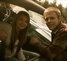 Joby and Olivia and the GTO by mimi5355