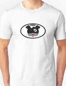 Perro Black Unisex T-Shirt