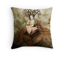 The wishing seat Throw Pillow