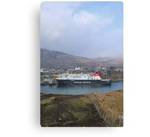 Tarbert, Harris Canvas Print