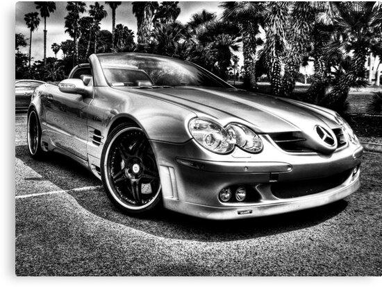 2003 Mercedes Benz SL55 AMG (B&W) by Ben Mattner