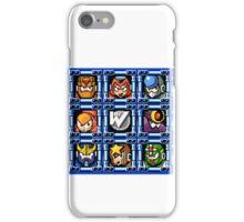 Megaman 5 boss select iPhone Case/Skin